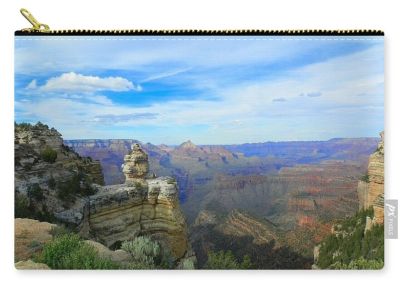 Grand Canyon Carry-all Pouch featuring the photograph Radiant View by Loring Laven
