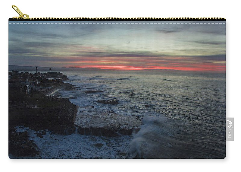 Above Carry-all Pouch featuring the photograph Radical Rockview by David Levy