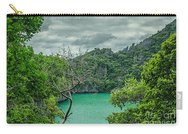 Michelle Meenawong Carry-all Pouch featuring the photograph Rain Season by Michelle Meenawong
