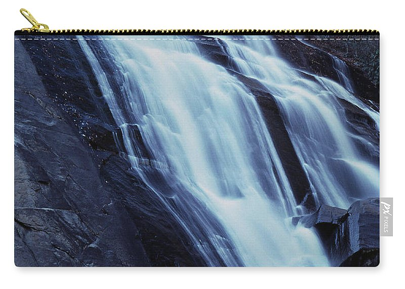 Waterfall Carry-all Pouch featuring the photograph Rainbow Falls by Richard Rizzo