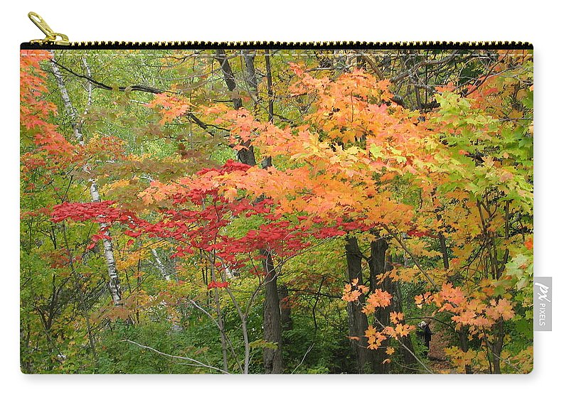 Fall Carry-all Pouch featuring the photograph Rainbow by Kelly Mezzapelle