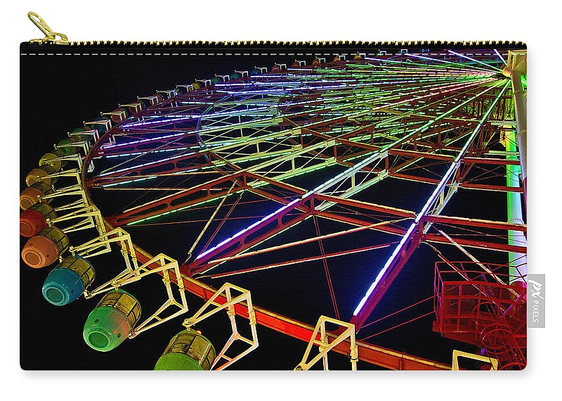 2010 Carry-all Pouch featuring the photograph Rainbow Ride by Dan Wells