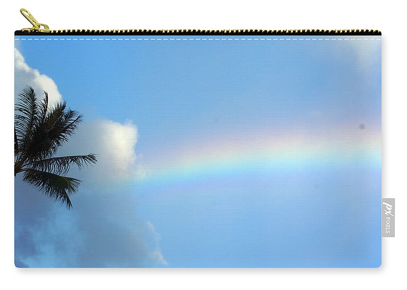 Carry-all Pouch featuring the photograph Rainbow Skies by Todd Hummel