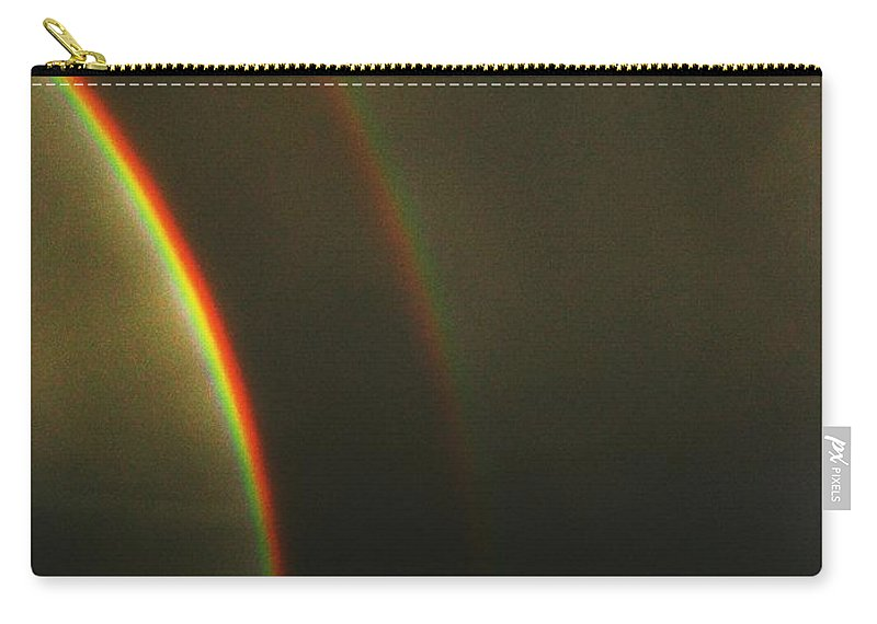 Seattle Carry-all Pouch featuring the photograph Rainbow by Tim Allen