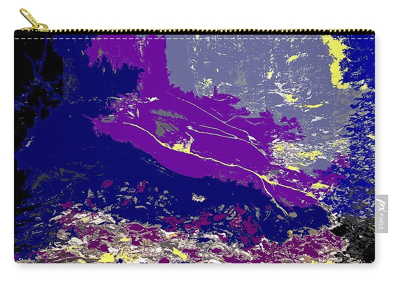 Rainforest Carry-all Pouch featuring the photograph Rainforest Shadows by Ian MacDonald