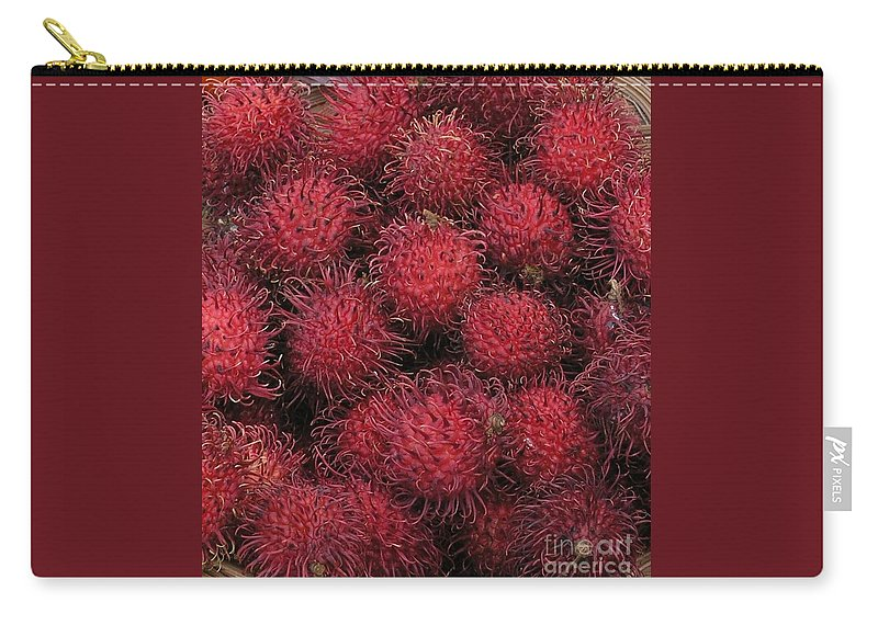 Rambutan Carry-all Pouch featuring the photograph Rambutan by Mary Deal