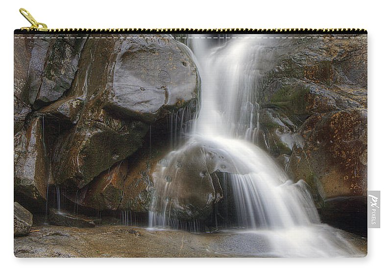 Ramsey Carry-all Pouch featuring the photograph Ramsey Cascades In Great Smoky Mountains National Park Tennesee by Brendan Reals