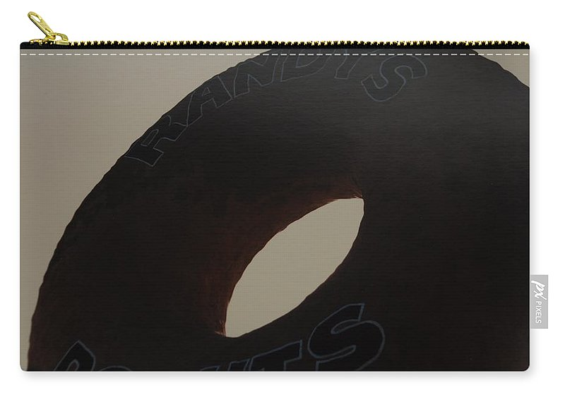 Randys Donuts Carry-all Pouch featuring the photograph Randys Donuts by Rob Hans