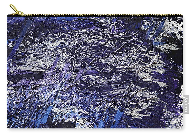Fusionart Carry-all Pouch featuring the painting Rapid by Ralph White