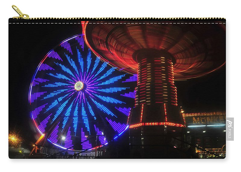 Florida State Fair Carry-all Pouch featuring the photograph Rare Light by David Lee Thompson