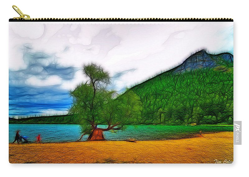 Nature Carry-all Pouch featuring the photograph Rattlesnake Lake by Tim Coleman