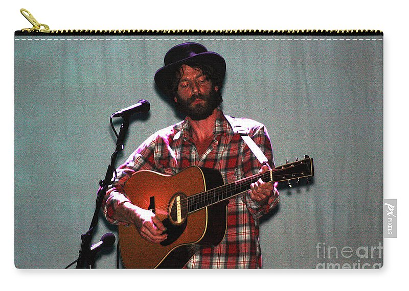Ray Lamontagne Carry-all Pouch featuring the photograph Ray Lamontagne-9040 by Gary Gingrich Galleries