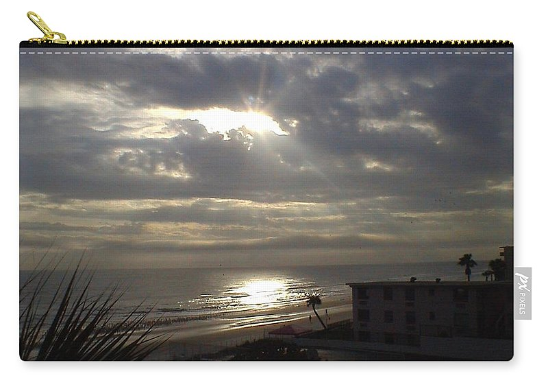 Landscape Carry-all Pouch featuring the photograph Ray Of Light by Charleen Treasures