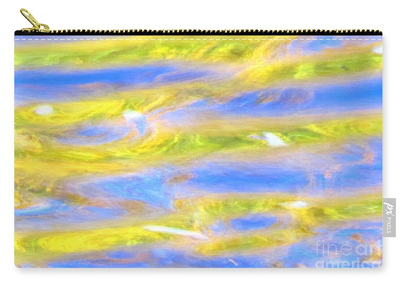 Abstract Carry-all Pouch featuring the photograph Rays Of Love by Sybil Staples