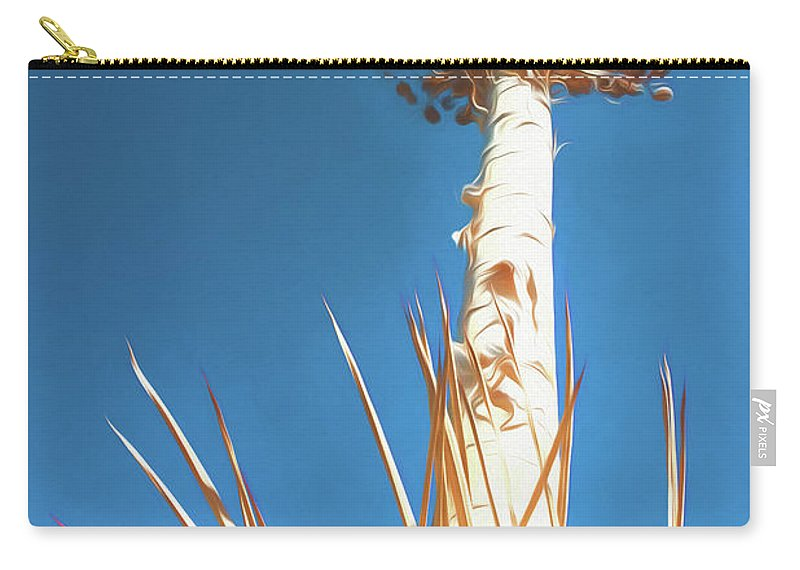 Agave Carry-all Pouch featuring the photograph Reach For The Sky by Scott Campbell