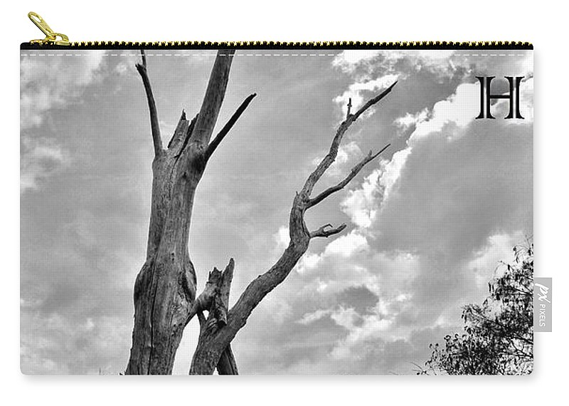 Reach High Carry-all Pouch featuring the photograph Reach High by Lisa Renee Ludlum