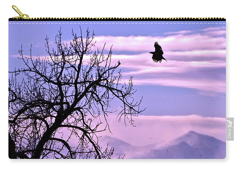 Motivational Carry-all Pouch featuring the photograph Reach Higher by Scott Mahon