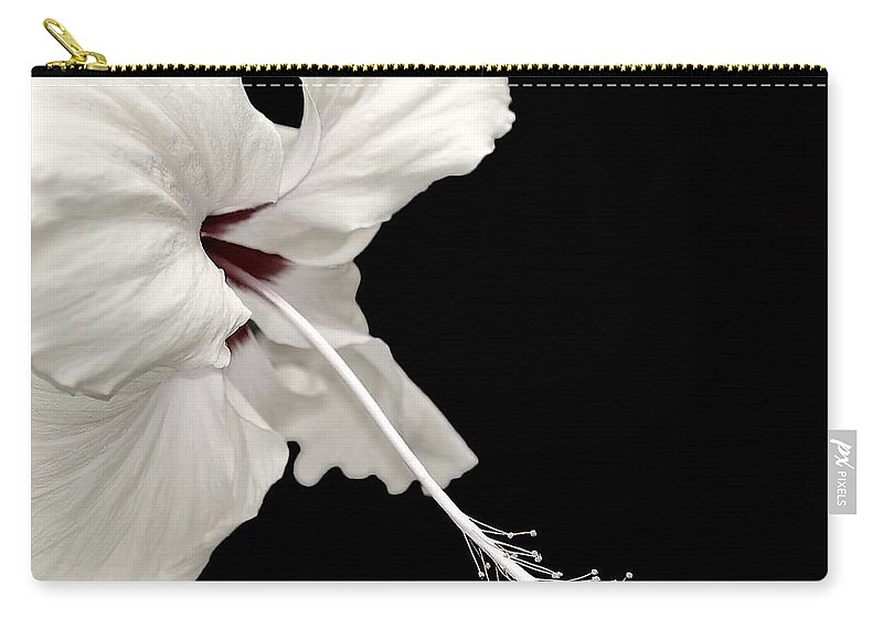 Flower Carry-all Pouch featuring the photograph Reach Out by Jacky Gerritsen