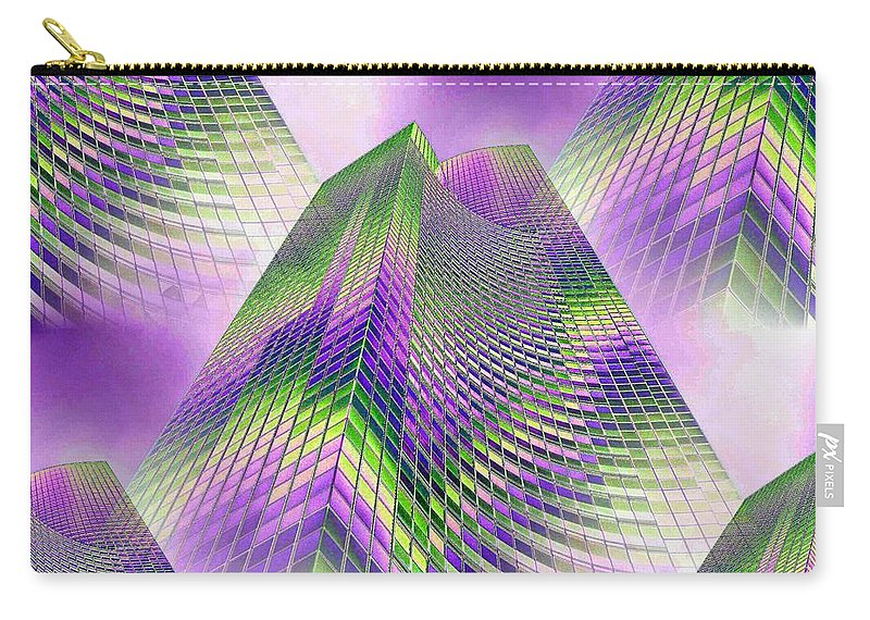 Seattle Carry-all Pouch featuring the photograph Reaching Skyward by Tim Allen