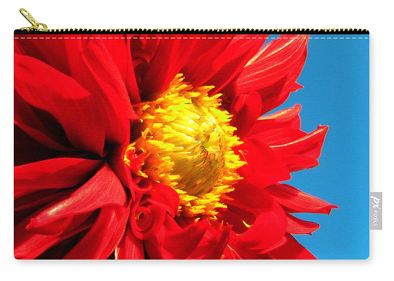 Dhalia Carry-all Pouch featuring the photograph Ready For The Future by Amanda Barcon