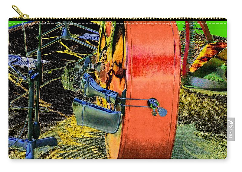 Music Carry-all Pouch featuring the digital art Ready To Play by Cliff Wilson
