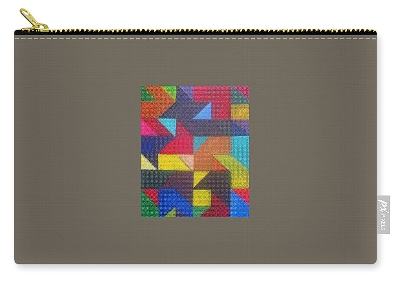 Digitalize Image Carry-all Pouch featuring the digital art Real Sharp by Andrew Johnson