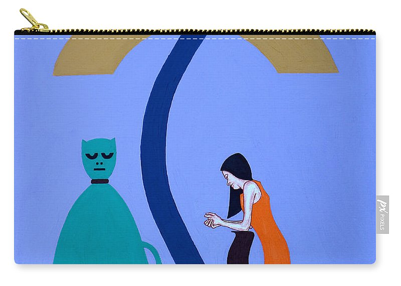 Reconciliation Carry-all Pouch featuring the painting Reconciliation 2 by Patrick J Murphy