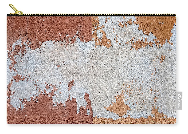 Wall Carry-all Pouch featuring the photograph Red And Orange Abstract by Elena Elisseeva