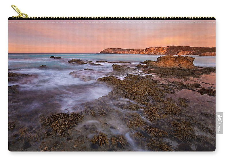 Sunrise Carry-all Pouch featuring the photograph Red Dawning by Mike Dawson