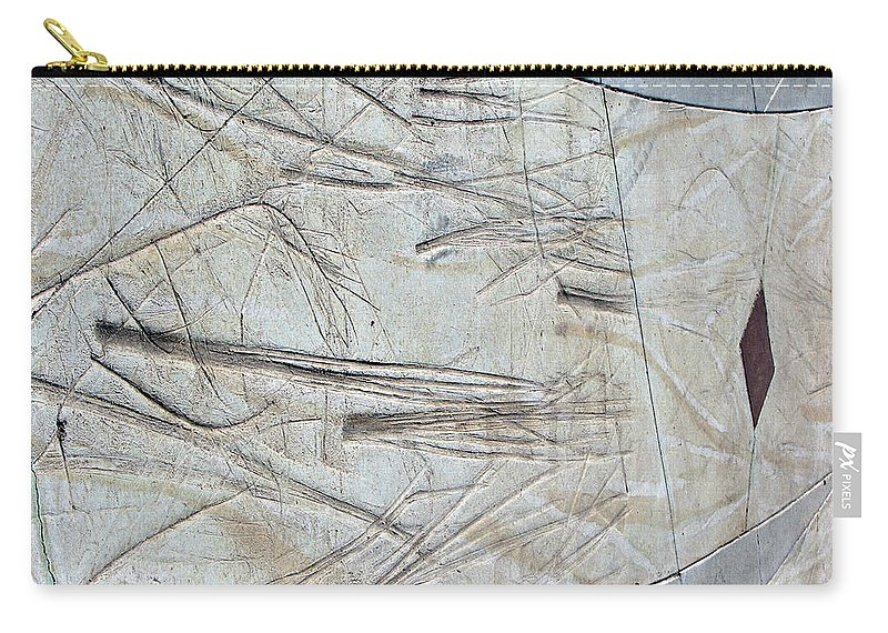 Red Diamond Trail Carry-all Pouch featuring the photograph Red Diamond Trail by Lisa S Baker