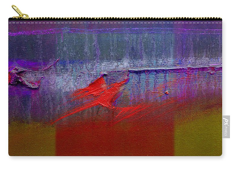 Landscape Carry-all Pouch featuring the painting Red Dragon Autumn by Charles Stuart