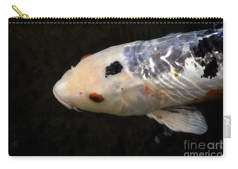 Clay Carry-all Pouch featuring the photograph Red Eye by Clayton Bruster
