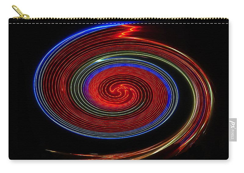 Red Carry-all Pouch featuring the photograph Red Galaxy by David Lee Thompson
