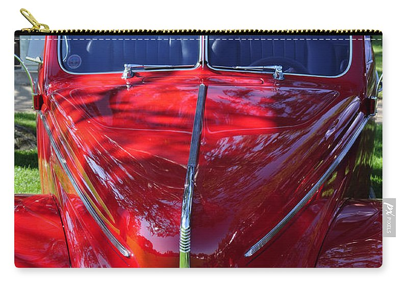 Clay Carry-all Pouch featuring the photograph Red Hot Rod by Clayton Bruster