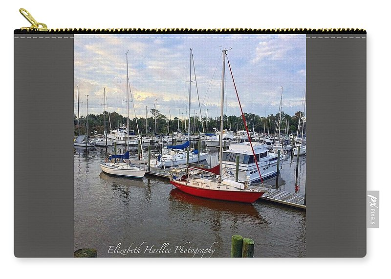 Carry-all Pouch featuring the photograph Red Letter Day by Elizabeth Harllee