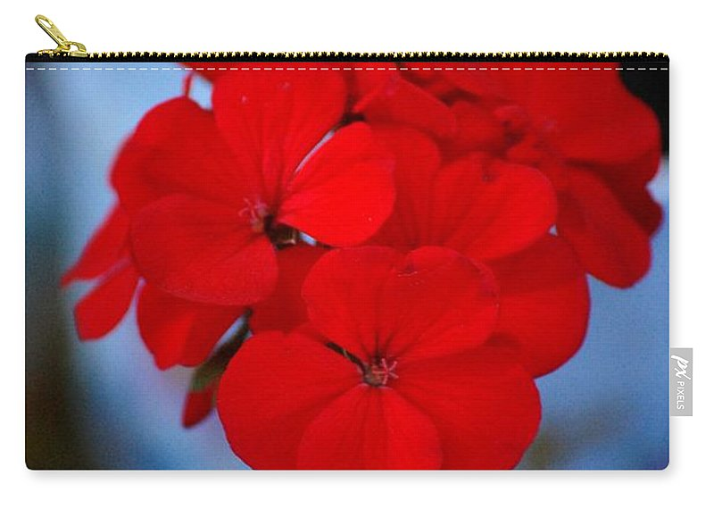 Carry-all Pouch featuring the photograph Red Menace by David Lane