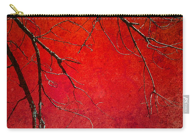 Zen Carry-all Pouch featuring the photograph Red Morning by Tara Turner