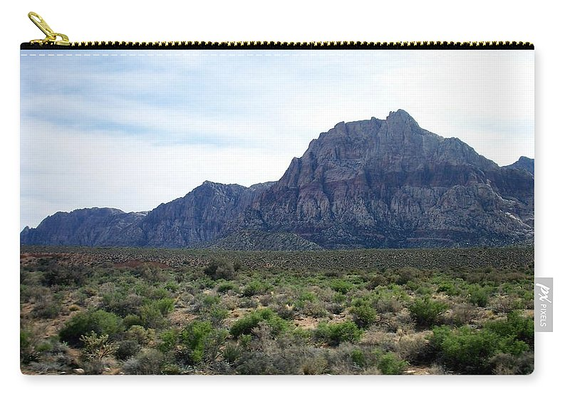 Red Rock Canyon Carry-all Pouch featuring the photograph Red Rock Canyon 3 by Anita Burgermeister
