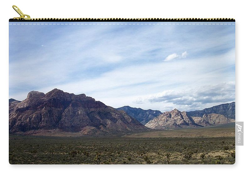 Red Rock Canyon Carry-all Pouch featuring the photograph Red Rock Canyon 4 by Anita Burgermeister