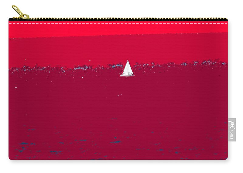 St Kitts Carry-all Pouch featuring the photograph Red Sea by Ian MacDonald