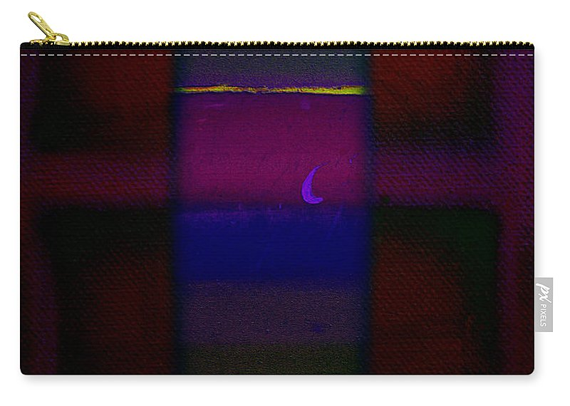 Rothko Carry-all Pouch featuring the painting Red Sky At Night by Charles Stuart