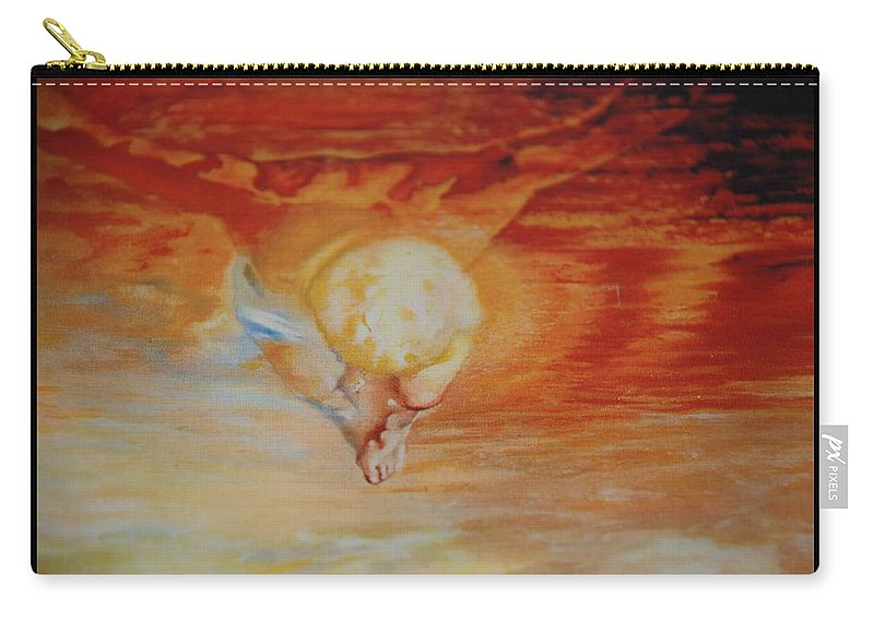 Angels Carry-all Pouch featuring the photograph Red Sky by Rob Hans