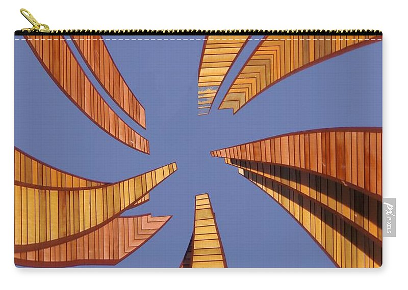 Seattle Carry-all Pouch featuring the digital art Reeds 2 by Tim Allen