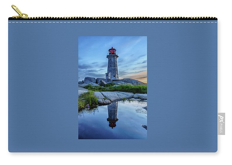 David Kulp Carry-all Pouch featuring the photograph Reflecting by David Kulp
