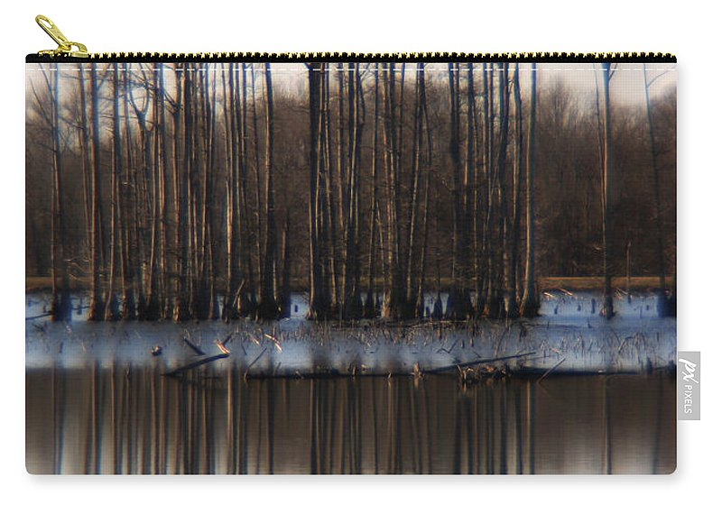 Nature Carry-all Pouch featuring the photograph Reflection by Amanda Barcon