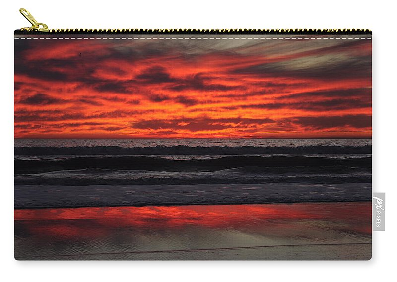 Sunset Carry-all Pouch featuring the photograph Reflection by Bridgette Gomes