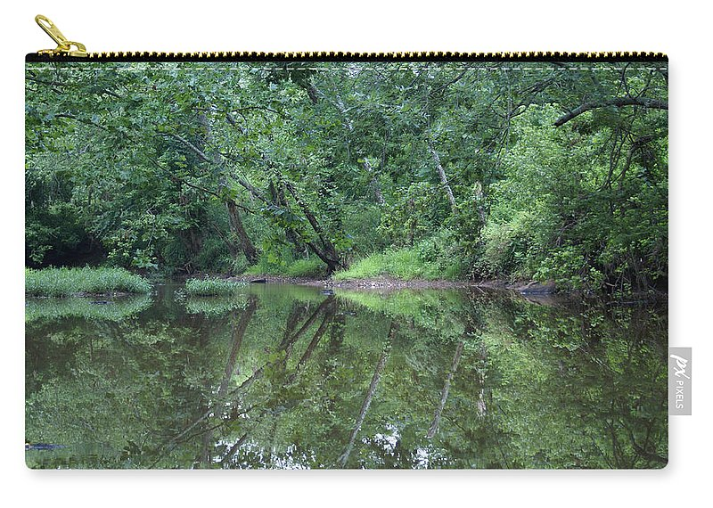 Water Carry-all Pouch featuring the photograph Reflection by Heidi Poulin