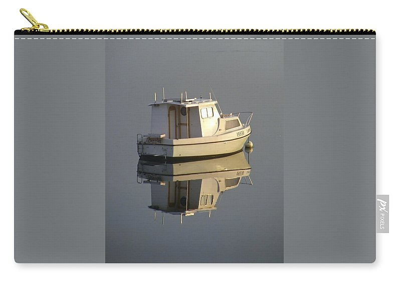 Reflection Carry-all Pouch featuring the photograph Reflection by Kathryn Potempski