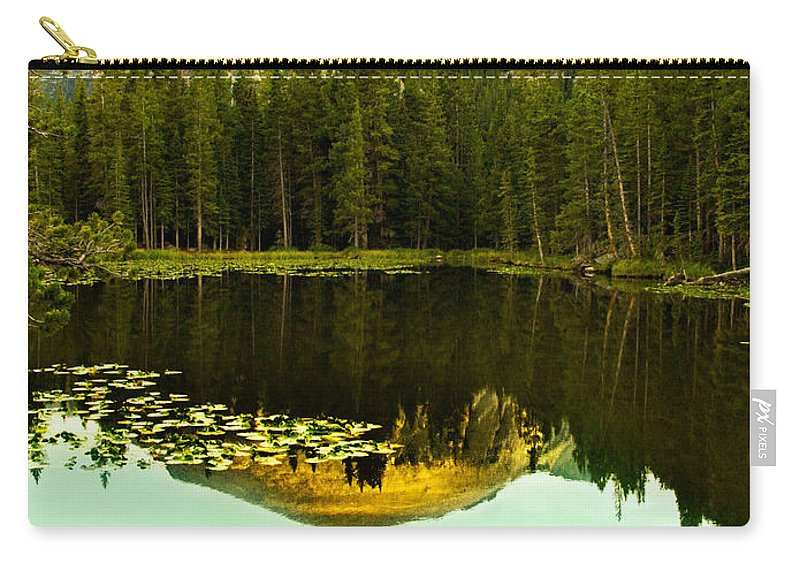 Reflection Carry-all Pouch featuring the photograph Reflection by Marilyn Hunt