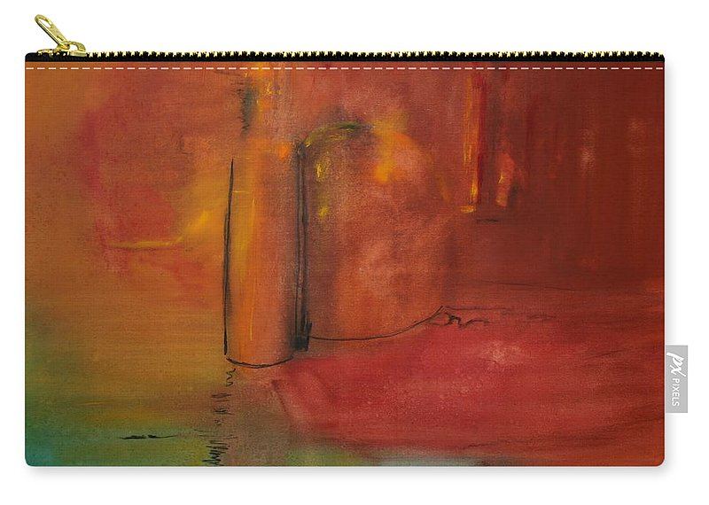 Still Carry-all Pouch featuring the painting Reflection Of Still Life by Jack Diamond